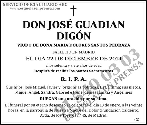 José Guadian Digón